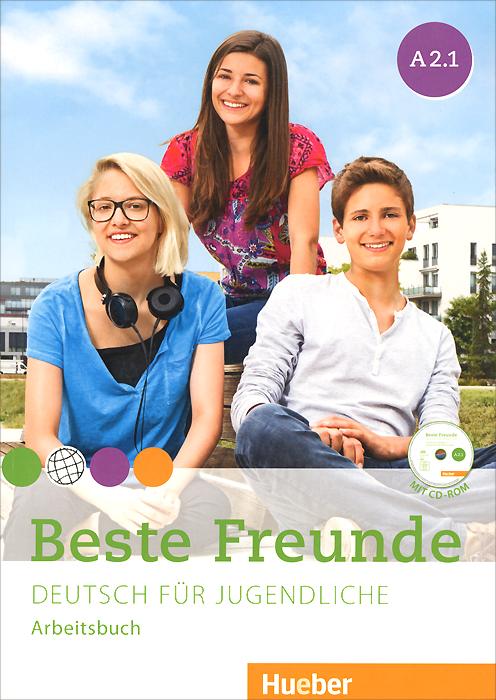 Beste Freunde A2.1: Deutsch fur Jugendliche: Arbeitbuch (+ CD-ROM) ( 978-3-19-361052-2 )