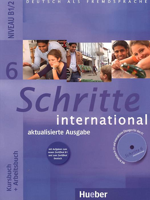 Schritte international 6: Niveau B1/2: Kursbuch + Arbeitsbuch (+ CD)