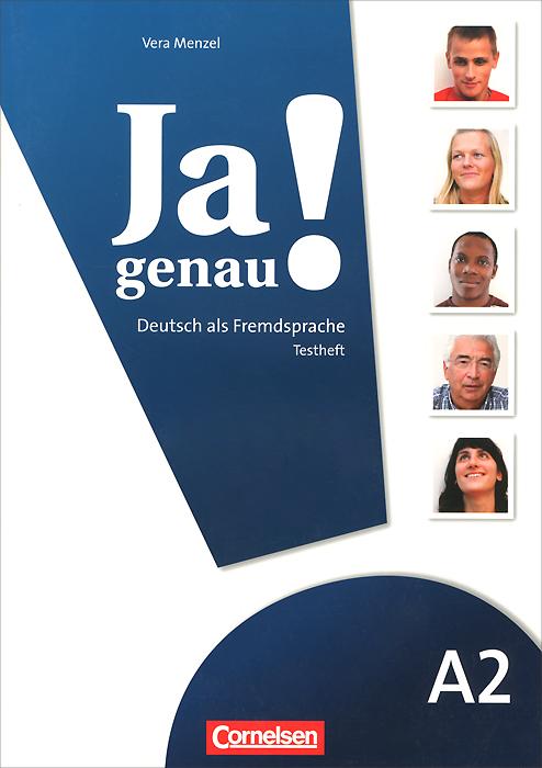 Ja genau!: Deutsch als fremdsprache: A2: Testheft (+ CD)