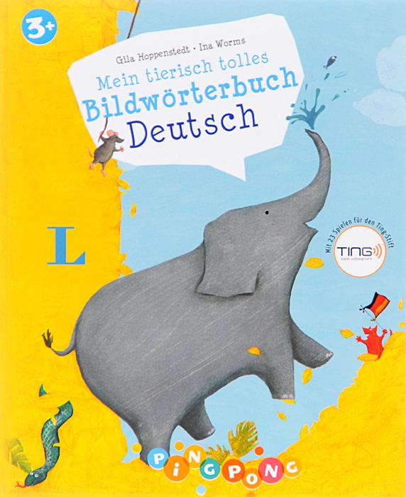 Mein tierisch tolles: Bildwoerterbuch Deutsch12296407Mit abwechslungsreichen Wimmelbildern und lustigen Tieren lernen Kinder neue Worter kennen. Die frohlichen lllustrationen erzahlen spannende Geschichten, regen zum eigenen Erzahlen an und bieten viele Elemente zum Suchen und EntdecNen. Der Ting-Stift Nest Worter vor und bietet interaktive Spiele. So werden ganz muhelos erste Worter vermittelt und die kindliche Fantasie bestarkt. Fur Kinder von 3-6 Jahren 23 lustige Spiele fur den Ting-Stift Uber 500 Worter und Gerausche