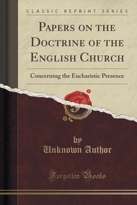 essays on the doctrine