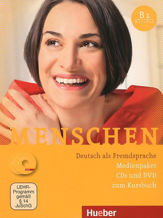 Menschen: Deutsch als Fremdsprache (комплект из 3 CD + DVD)