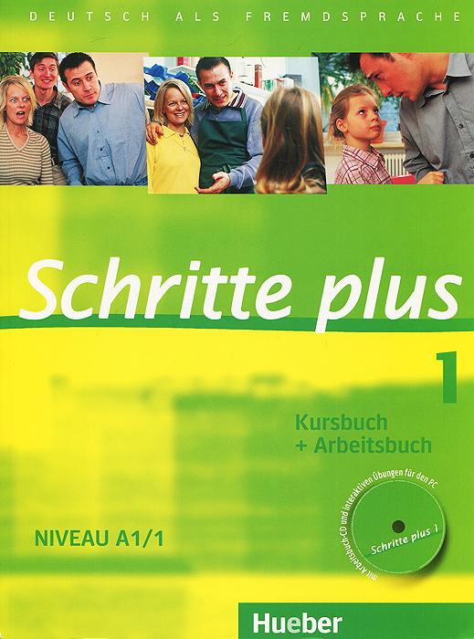 Schritte Plus 1: Kursbuch + Arbeitsbuch: Niveau A1/1 (+ CD)