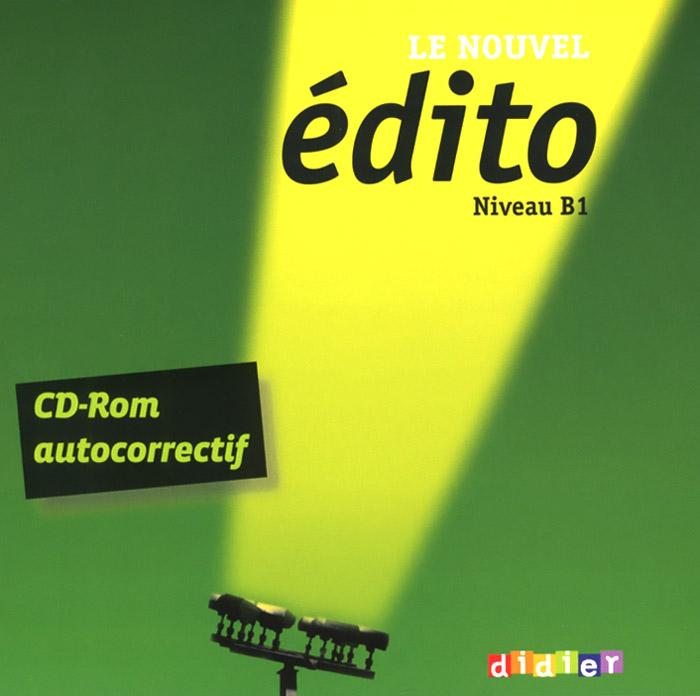 Le nouvel edito: Nuveau B1 (аудиокурс на CD-ROM)
