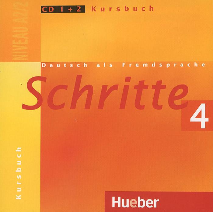 Schritte 4: Deutsch als Fremdsprache: Niveau A2/2: Kursbuch (��������� �� 2 CD)