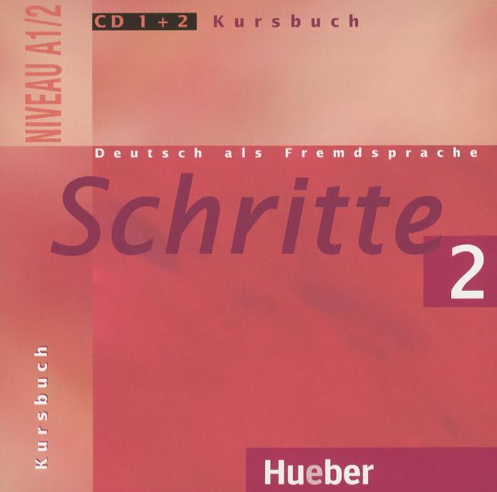 Schritte 2: Niveau A1/2: Kursbuch (аудиокурс на CD 1+2)