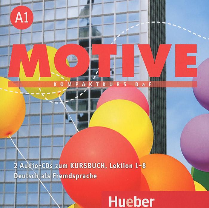 Motive A1: Kompaktkurs DaF: Lektion 1-8 (аудиокурс на 2 CD)