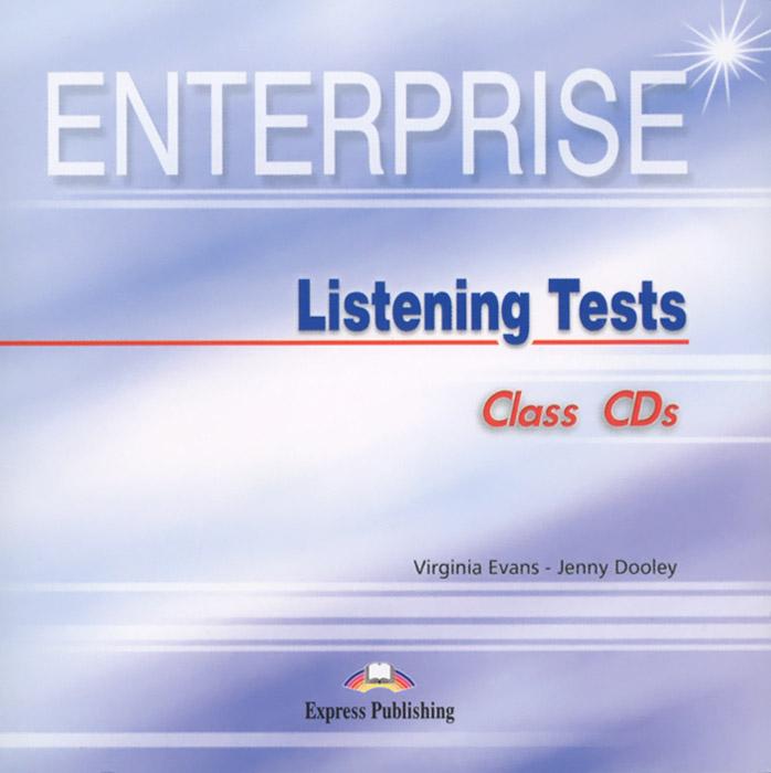 Enterprise: Listening Tests: Class CD's (аудиокурс на 2 CD)