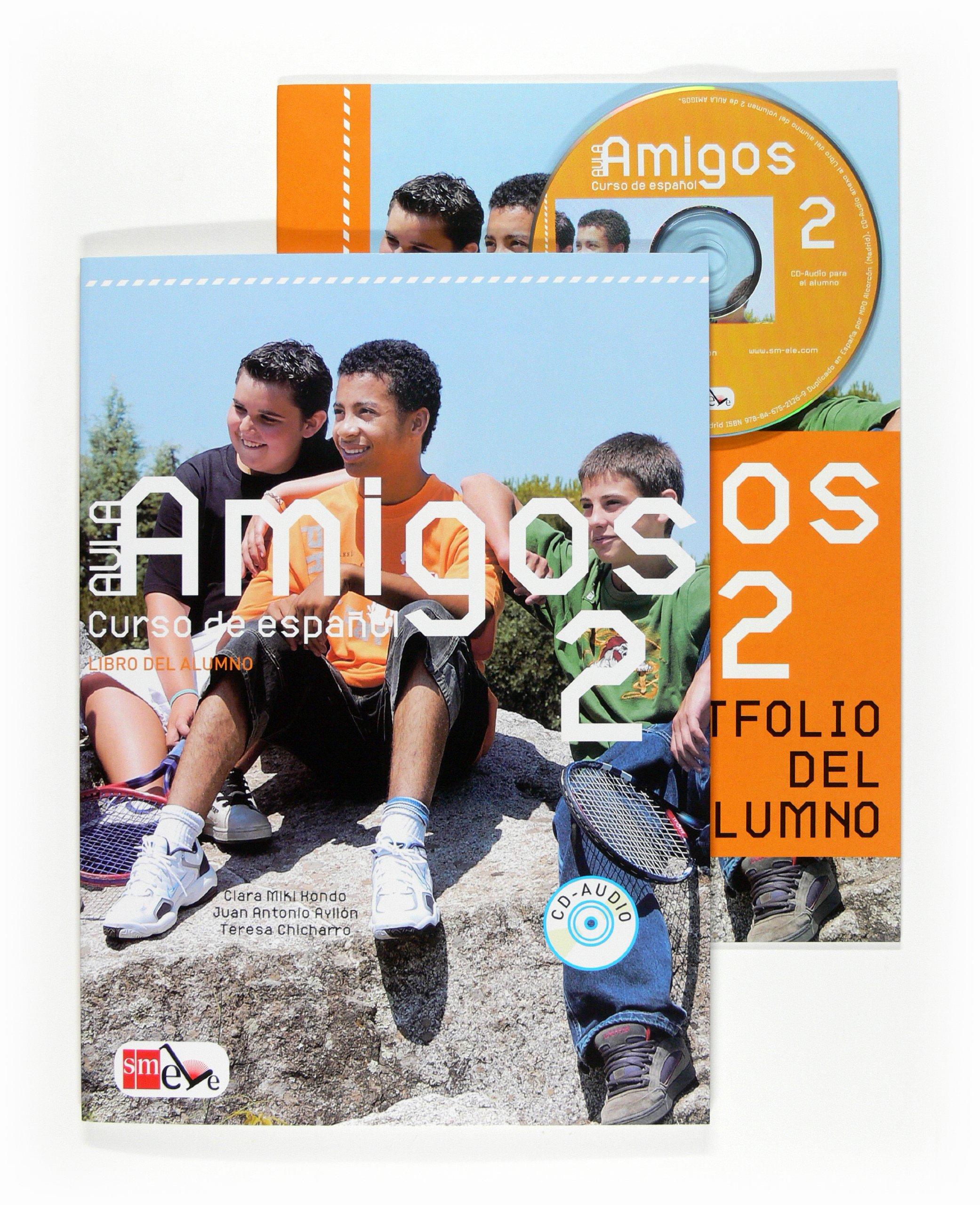Aula Amigos Int 2 Libro Alumno + CD