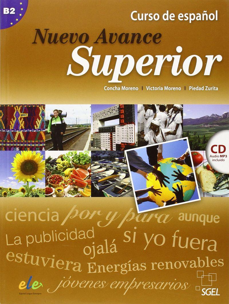 Nuevo Avance Superior Libro + CD