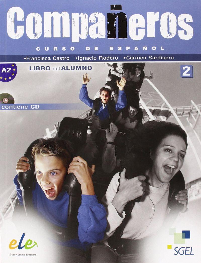Companeros 2 Libro del Alumno +CD