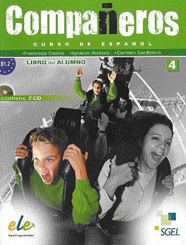 Companeros 4 Libro del Alumno +CD