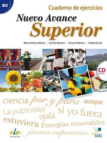 Nuevo Avance Superior Quaderno de ejercicios + CD