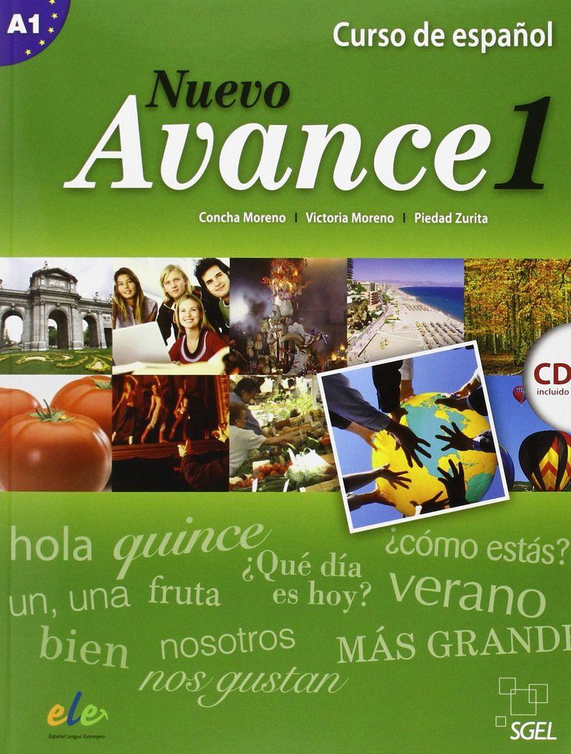 Nuevo Avance 1: Curso de espanol: Nivel A1 (+ СD)