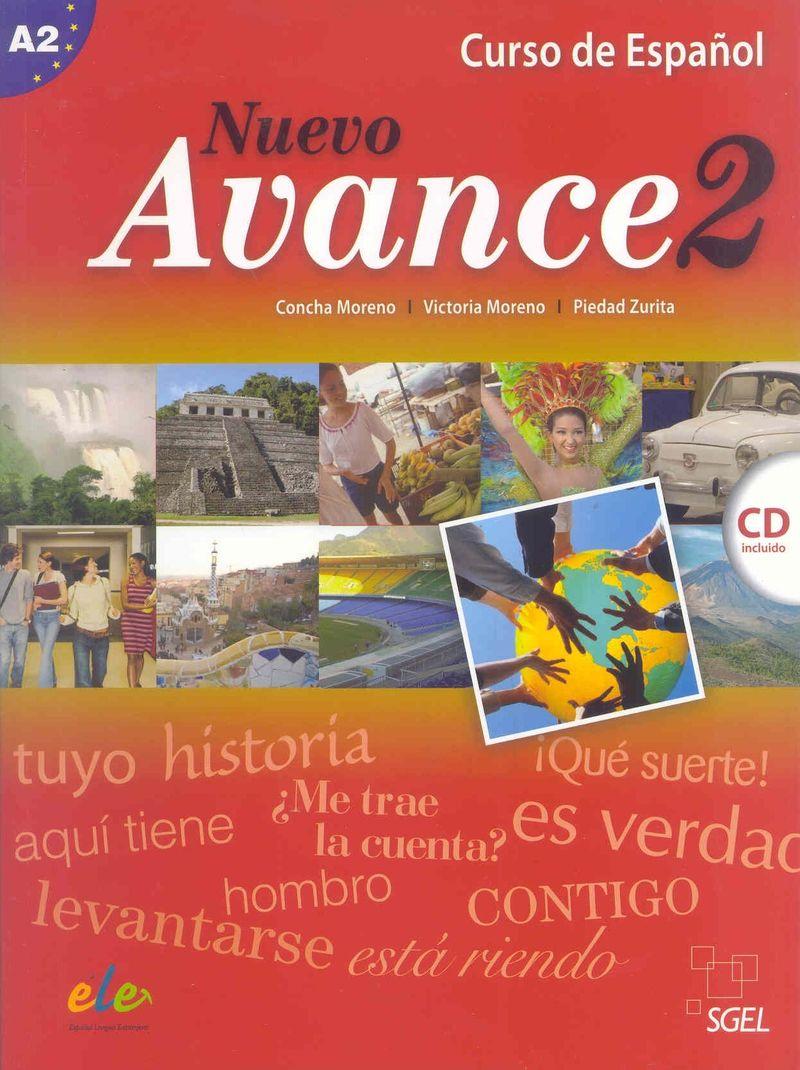 Nuevo Avance 2 Libro del alumno +D