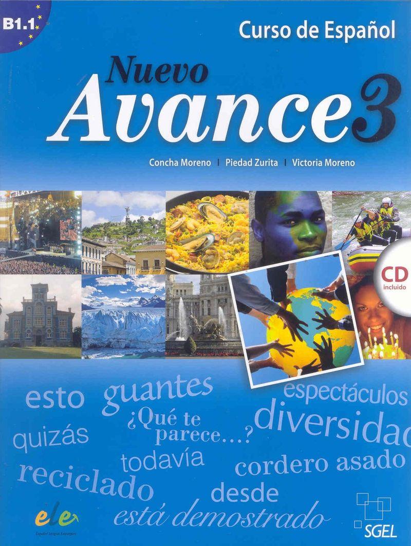 Nuevo Avance 3 Libro del alumno +D