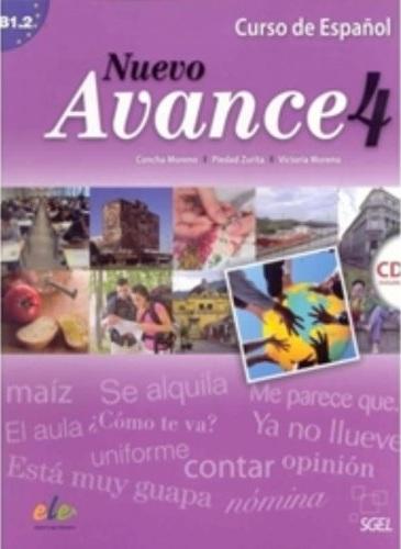 Nuevo Avance 4 Libro del alumno +D