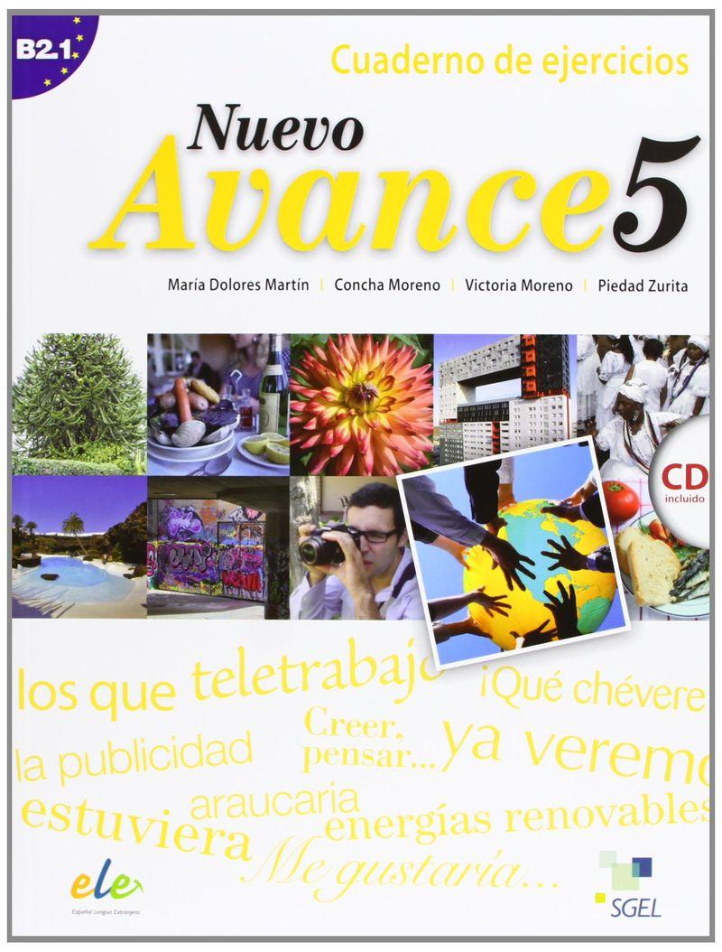 Nuevo Avance 5: Cuaderno de ejercicios B2.1 (+ CD)
