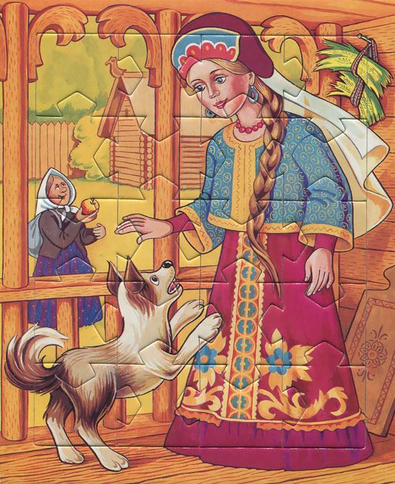 Сказка о мертвой царевне и о семи богатырях. Игра-головоломка. Для детей от 5 лет