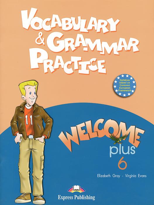 Vocabulary & Grammar Practice: Welcome Plus 6