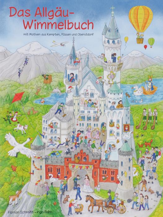 Das Allgau-Wimmelbuch12296407Tolle Motive bekannter Orte aus dem Allgau. Der Rathausplatz in Kempten, die Breitachklamm bei Oberstdorf, das Hohe Schloss zu Fussen und viele andere typische Szenen, die das Allgau so liebenswert und einzigartig machen. Das erste grosse Allgau-Wimmelbuch zeigt Bekanntes, Neues, Uberraschendes, Vertrautes und Lustiges uber das Allgau und seine Menschen. Wer findet den Ritter auf dem Bauernhof? Wieso schwimmt ein U-Boot auf dem Alpsee? Seit wann findet man Elefanten beim Alp-Abtrieb? Was sucht Elvis im Allgau? Gibt es UFOs uber Kempten? Ob als Fotomodell in Hohenschwangau, im Tretboot auf der Breitach oder rodelnd am Nebelhorn - Konig Ludwig II. treibt sich uberall herum. Auch die Alphornblaser wissen nicht, wo sie bleiben sollen und eine entlaufene Kuh tummelt sich ebenfalls in jedem Bild. Wilde Mannle in der Klamm, ein Allgauer Kriminalkommissar futtert Kasspatzen und chaotische Ferien auf dem Bauernhof - Charakteristisches aus dem Allgau fur Kinder und ihre Eltern wunderschon...