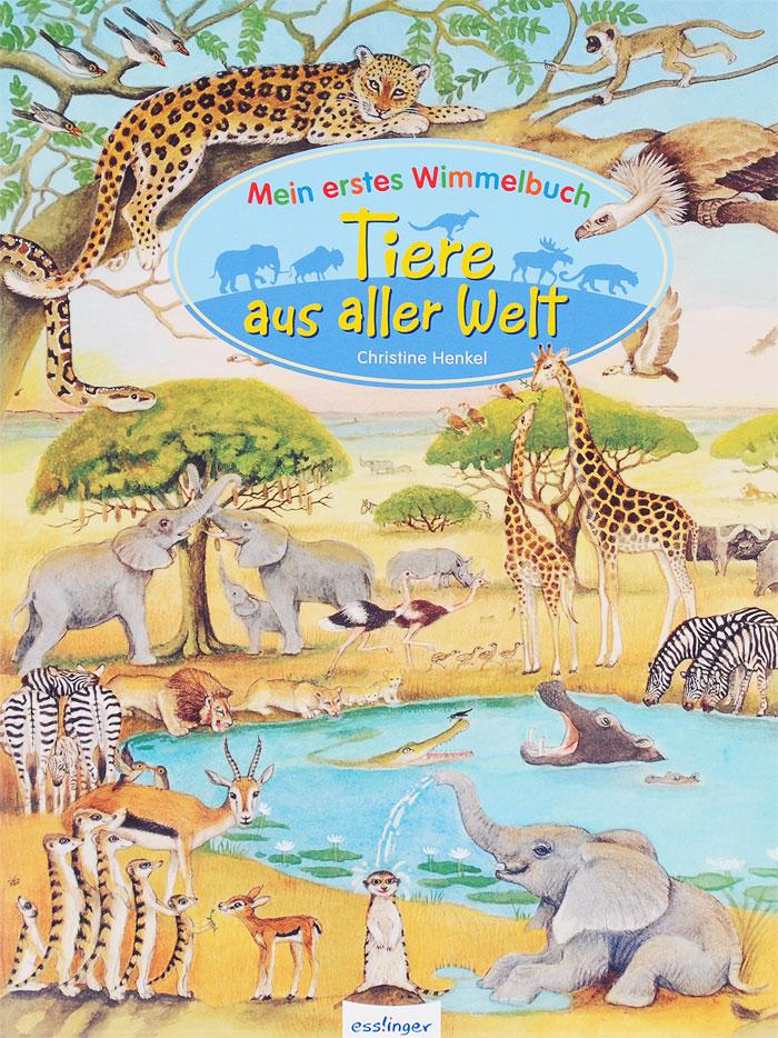 Mein erstes Wimmelbuch: Tiere aus aller Welt12296407Wo verstecken sich die Koalabaren und die kleinen Kangurus? Und leben Pinguine wirklich auf dem Eis? Kinder wollen alles uber ihre Lieblingstiere wissen. In detaillierten groBen Wimmelbildern werden viele spannende Tiere aus alien Teilen der Welt vorgestellt: vom heimischen Wald in Europa nach Afrika in die Savanne, von Nordamerika zum tropischen Regenwald, von Asien uber Australien bis hin zur Antarktis.