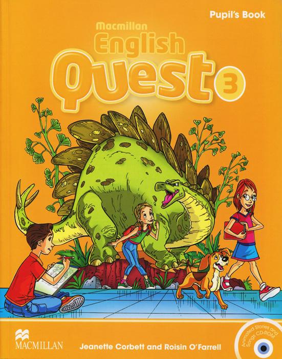 Macmillan English Quest 3: Pupil's Book (+ CD-ROM)