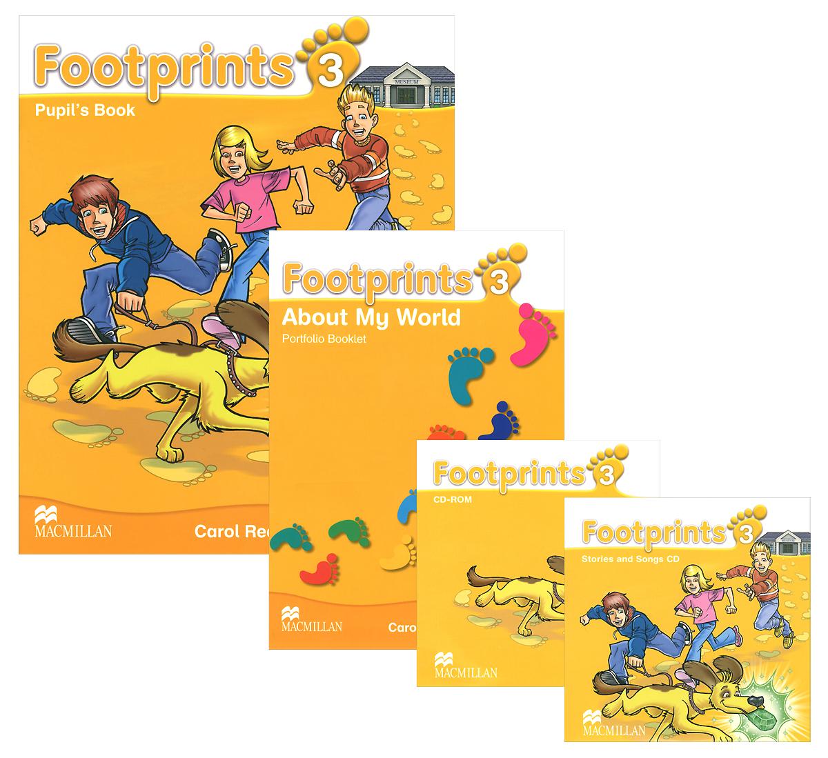 Footprints 3: Pupil's Book (�������� �� 2 ���� + 2 CD)