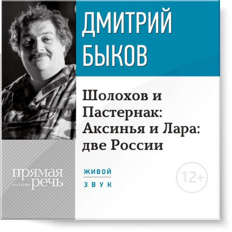 Лекция «Шолохов и Пастернак: Аксинья и Лара: две России»