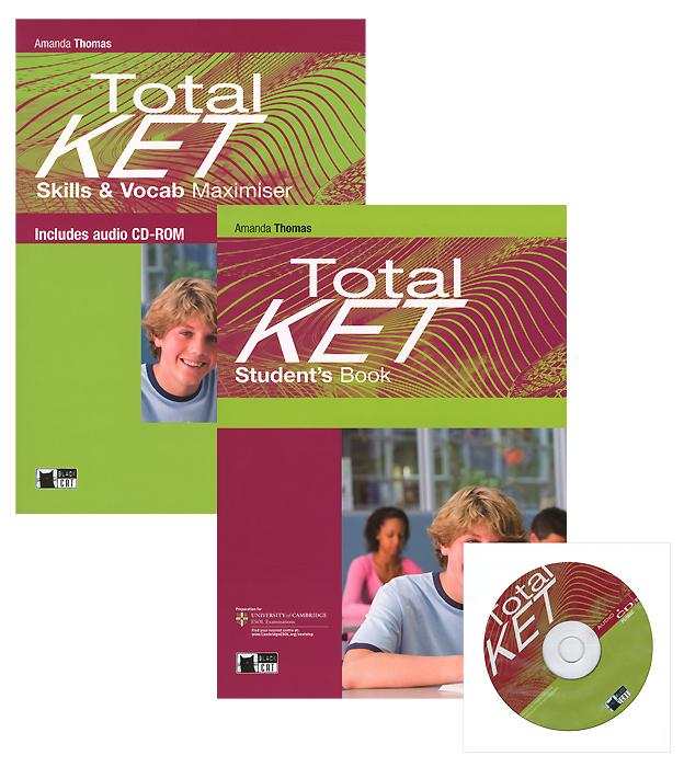 Total Ket: Student's Book: Total Ket: Skills & Vocab Maximiser (комплект из 2 книг) (+ CD)