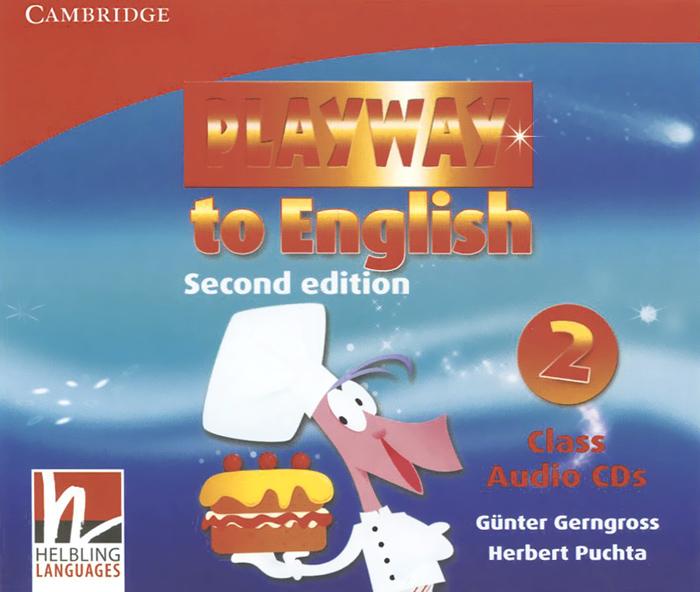 Playway to English: Level 2 (аудиокурс на 3 CD)