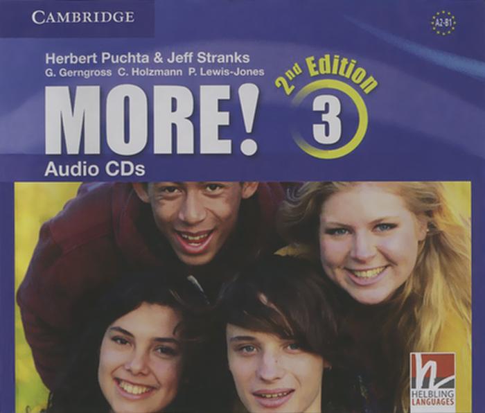 More! Level 3: Audio CDs (аудиокурс на 3 CD)