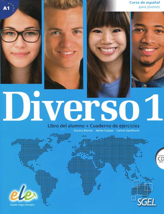 Diverso 1: Curso de espanol para jovenes: Libro del alumno + Cuaderno de ejercicios (+ CD)