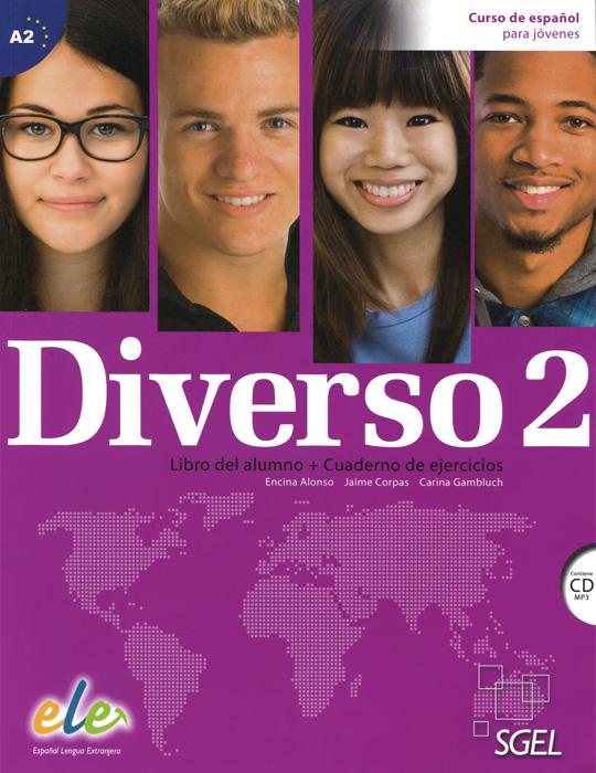 Diverso 2: Curso de espanol para jovenes: Libro del alumno + Cuaderno de ejercicios (+ CD)