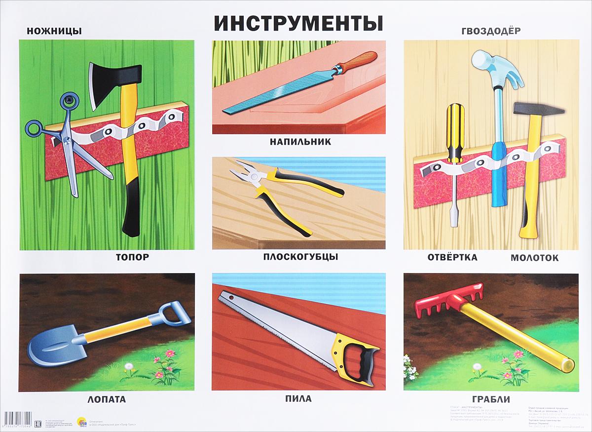 Инструменты. Плакат