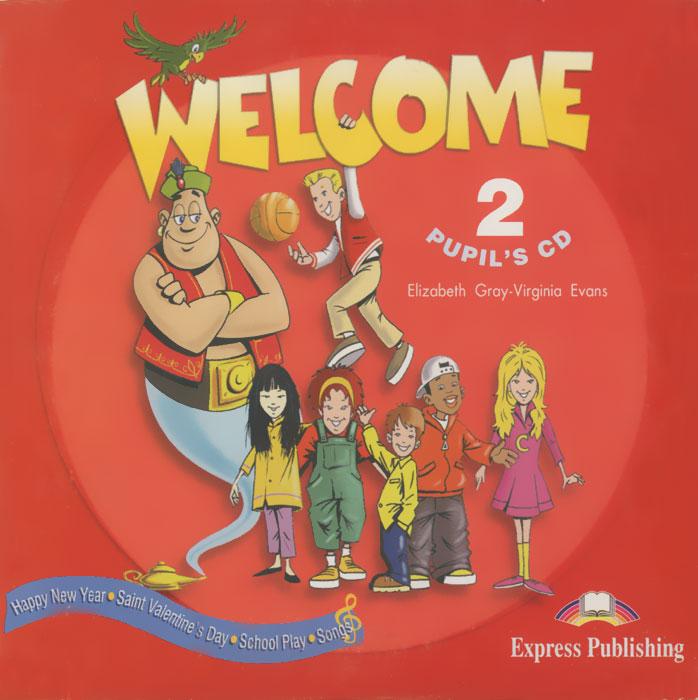 Welcome 2: Pupil's CD (аудиокурс на CD)