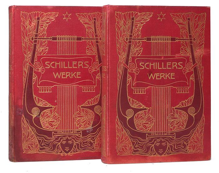Schillers Werke (комплект из 2 книг)