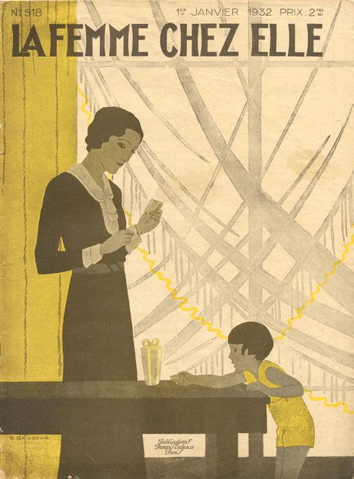 La Femme chez Elle, №518, janvier, 1932