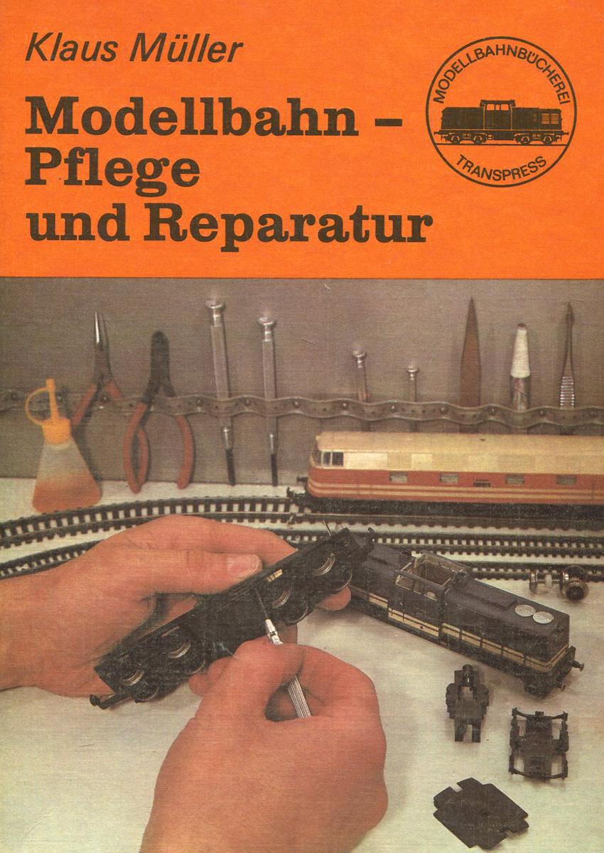 Modellbahn-Pflege und Reparatur