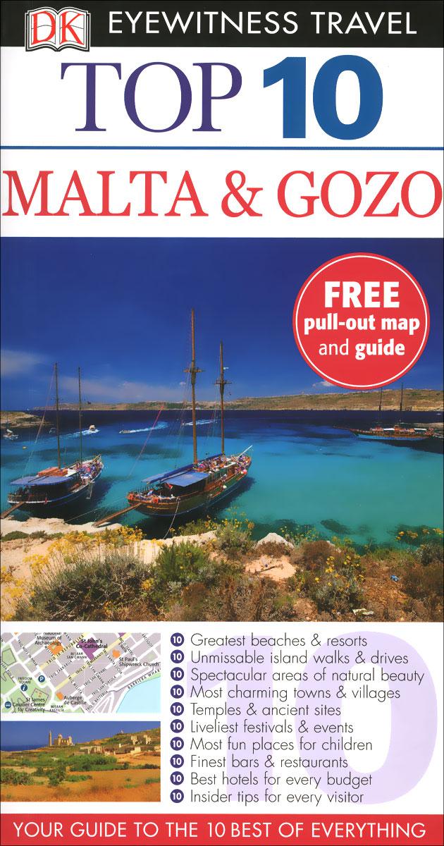 Malta & Gozo: Top 10 (+ карта) ( 978-0-2410-0752-5 )