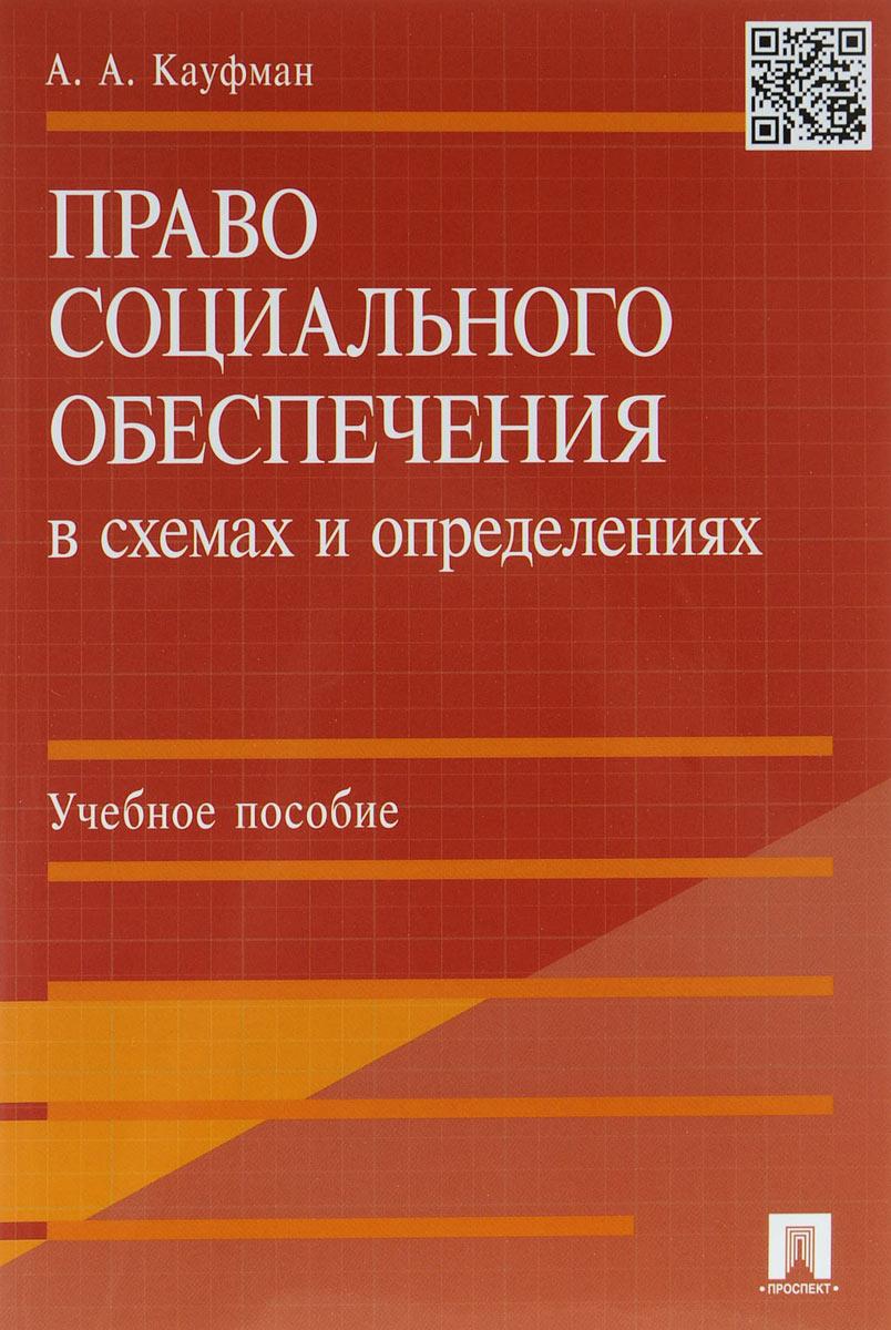 Право социального обеспечения в схемах и определениях. Учебное пособие ( 978-5-392-20028-3 )