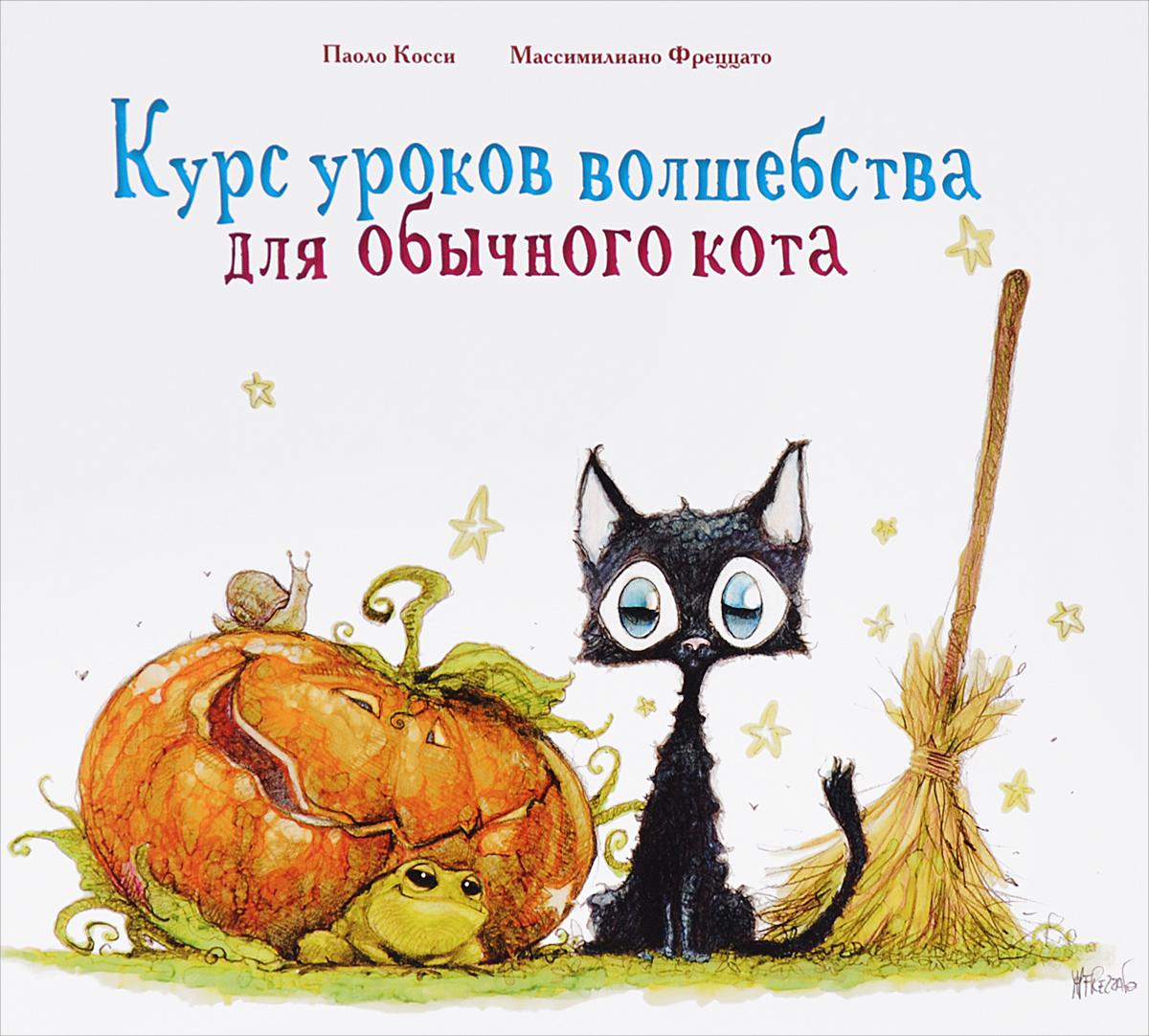 Курс уроков волшебства для обычного кота12296407Это история о доброй девочке-колдунье и её чёрном коте, который однажды влюбился. Да так сильно и безнадёжно, что решил, будто без магии не обойтись! Кот мечтает стать волшебником, изобрести эликсир любви и завоевать сердце прекрасной кошки. Он берёт уроки у колдуньи и учится быть волшебником, но всё же оказывается, что любовь и есть самая сильная магия...