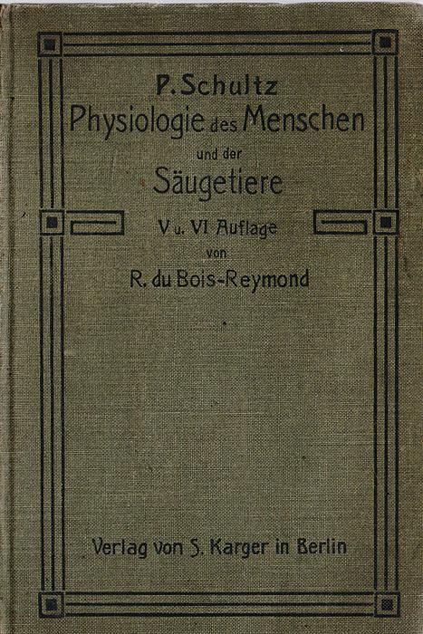 Kompendium der Physiologie des Menschen und der Saugetiere