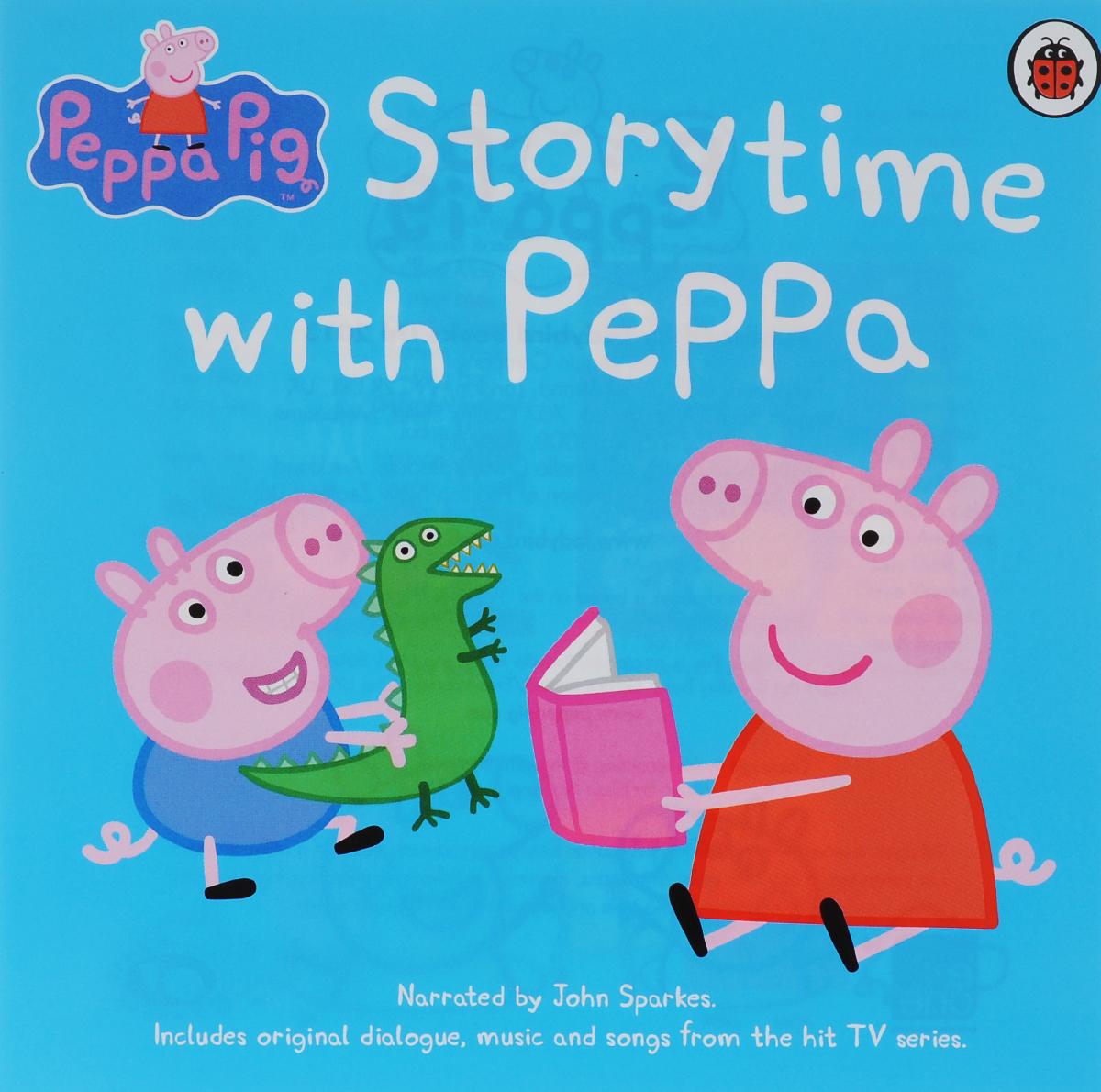 Storytime with Peppa (аудиокнига на CD)