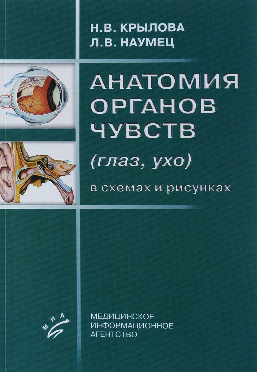Анатомия органов чувств (глаз, ухо) в схемах и рисунках: Учебное пособие. Крылова Н.В. ( 978-5-8948-1964-8 )