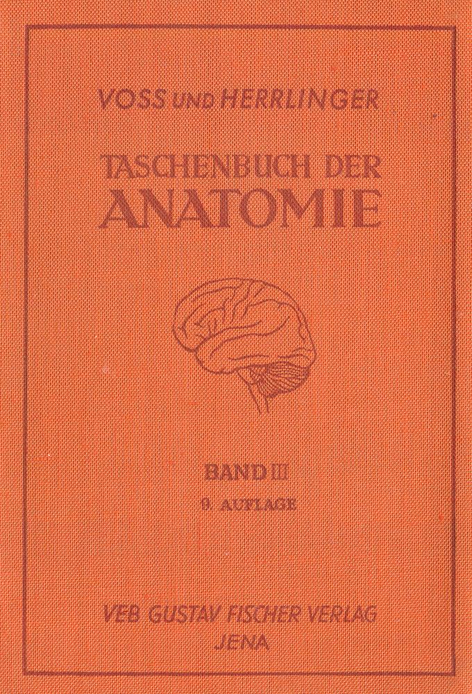 Taschenbuch der Anatomie. Band III. Nervensystem. Sinnessystem. Hautsystem. Inkretsystem