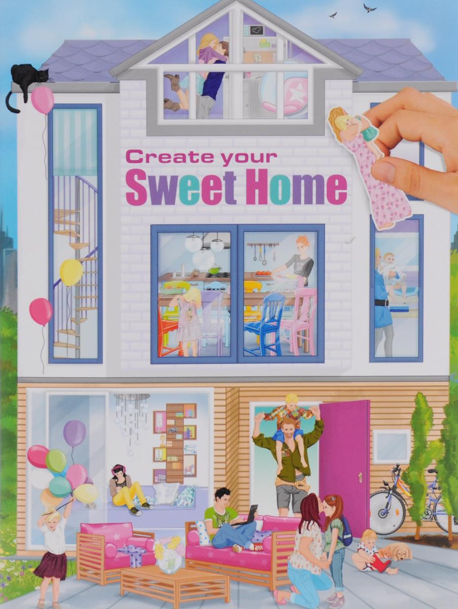 Creative Studio Create your Sweet Home. Альбом с наклейками