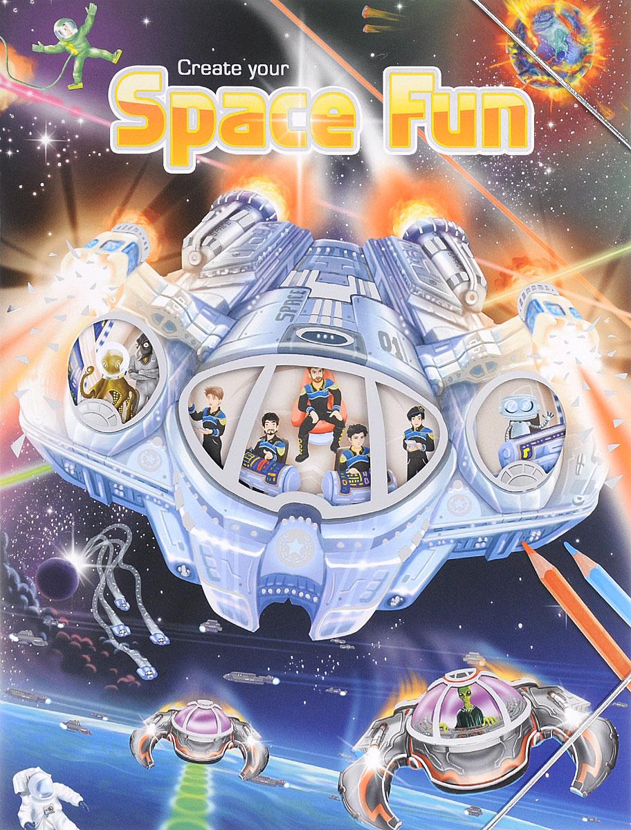 Creative Studio: Create your Space Fun (альбом с наклейками)