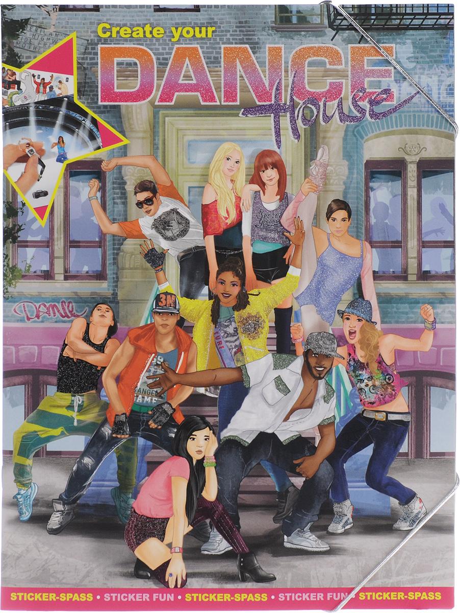Creative Studio: Create your Dance House. Альбом с наклейками