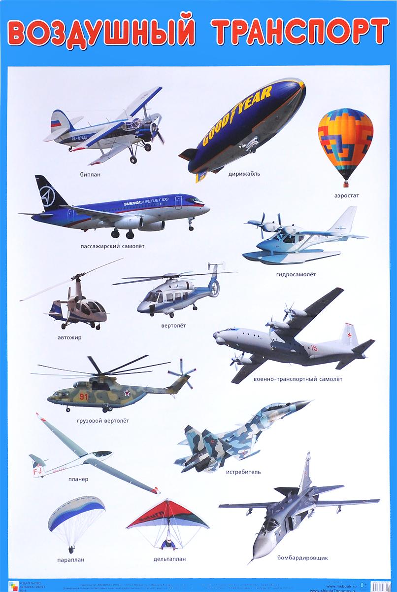 Воздушный транспорт. Плакат12296407Плакат большого формата «Воздушный транспорт» познакомит детей с различными видами воздушного транспорта: вертолетом, аэростатом, пассажирским самолетом и другими. Четкие, яркие фотографии обязательно заинтересуют ребят и помогут усвоить новые знания. Наглядный материал может быть использован на занятиях по ознакомлению с окружающим миром, для развития речи и мышления.